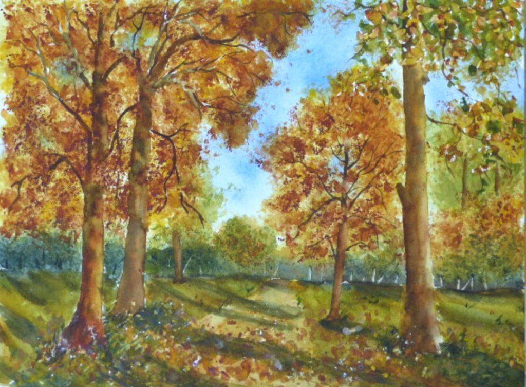 Aquarelle : comment peindre un arbre